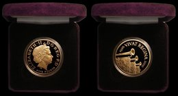 Five Pound Crown 2006 Queen Elizabeth II 80th Birthday Gold Proof S.L16 FDC in the Royal Mint box of issue with certificate