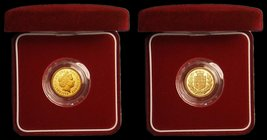 Half Sovereign 2002 Proof FDC in the red box of issue with certificate