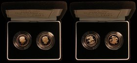 Half Sovereigns a 2-coin set 2004 S.SB4 Proof and 2005 S.SB6 Proof FDC in the Royal Mint box of issue with certificate