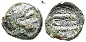 "Kings of Macedon. Uncertain mint in Macedon. Alexander III ""the Great"" 336-323 BC. Unit Æ"