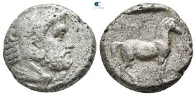 Kings of Macedon. Aigai. Amyntas III 393-369 BC. Stater AR