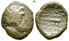 Macedon. Herakleia Lynkestis 167-149 BC. Republican period. Fourth Meris. Under Roman Protectorate. Republican period. Fourth Meris. Bronze Æ