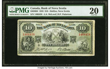 Canada Halifax, NS- Bank of Nova Scotia $10 2.1.1935 Ch.# 550-36-04 PMG Very Fine 20.   HID09801242017