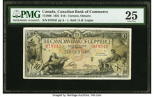 Canada Toronto, ON- Bank of Commerce $10 2.1.1935 Ch.# 75-18-06 PMG Very Fine 25.   HID09801242017