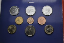 Andorra.  AD 2003. Mint set. 2 Euro and 25 Centims