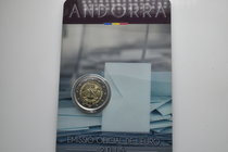 Andorra.  AD 2015. 30 years majority with 18. 2 Euro
