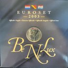 BeNeLux.  AD 2003. 3 Mint sets. 11,64 Euro