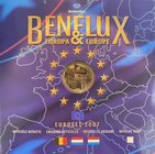 BeNeLux.  AD 2007. 3 Mint sets. 11,64 Euro