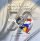 BeNeLux.  AD 2008. 3 Mint sets. 11,64 Euro