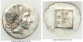 LYCIAN LEAGUE. Masicytes. Ca. 48-20 BC. AR hemidrachm (17mm, 1.81 gm, 12h). Choice XF. Series 4. Head of Apollo right, wearing taenia / ΛΥΚΙΩΝ, cithar...