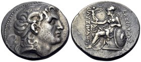 KINGS OF THRACE. Lysimachos, 305-281 BC. Tetradrachm (Silver, 28.5 mm, 16.79 g, 12 h), Magnesia ad Maeandrum, circa 297/6-281. Diademed head of Alexan...