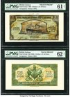 Canada Georgetown, British Guiana- Royal Bank of Canada $5 (£1-0-10) 3.1.1938 Ch.# 630-36-02p Pick British Guiana S141p1; S141p2 Front and Back Proofs...