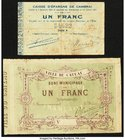 A Pair of Local Issues from France from the Mid-19th Century. Fine or Better.   HID09801242017
