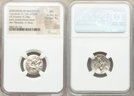MACEDONIAN KINGDOM. Alexander III the Great (336-323 BC). AR drachm (19mm, 4.28 gm, 11h). NGC MS 4/5 - 4/5. Posthumous issue of Abydus, ca. 310-297 BC...