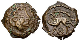 Veliocasses AE Unit, c. 100-50 BC 
