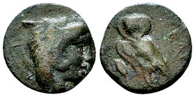 Velia AE15, late 5th century 