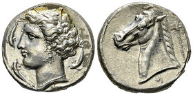 Siculo-Punic AR Tetradrachm, c. 320-300 BC 