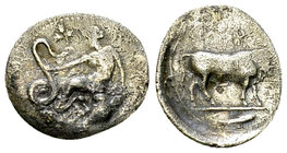 Selinos AR Litra, c. 417-409 BC 