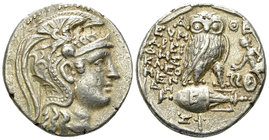 Athens AR Tetradrachm, New Style 