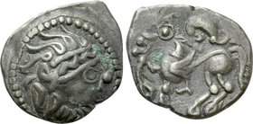 EASTERN EUROPE. Imitations of Philip II of Macedon (2nd-1st centuries BC). Drachm. Kapostaler type.