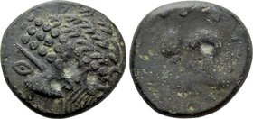 "EASTERN EUROPE. Ae Tetradrachm (3rd-2nd centuries BC). ""Gjurgjevac"" Type."