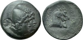 KINGS OF SKYTHIA. Ailis (2nd century BC). Ae.