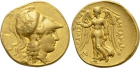 KINGS OF MACEDON. Alexander III 'the Great' (336-323 BC). GOLD Stater. Tarsus.