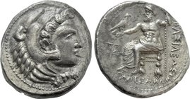 KINGS OF MACEDON. Alexander III 'the Great' (336-323 BC). Tetradrachm. Citium.