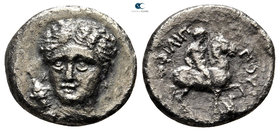 Kings of Macedon. Amphipolis. Philip II of Macedon 359-336 BC. 1/5 Tetradrachm AR