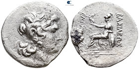 Thrace. Byzantion 90-81 BC. In the name and types of Lysimachos. Tetradrachm AR