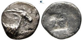 Thraco-Macedonian Region. Uncertain mint circa 500-480 BC. Drachm AR (?)