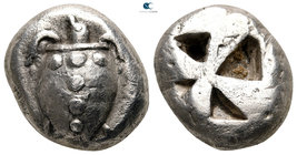 Islands off Attica. Aegina 525-500 BC. Stater AR