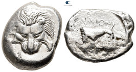 Islands off Ionia. Samos 477-461 BC. Tetradrachm AR
