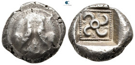 Dynasts of Lycia. Uncertain mint. Teththiveibi 450-420 BC. Stater AR