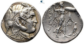 Ptolemaic Kingdom of Egypt. Alexandreia. Ptolemy I Soter 305-282 BC. As satrap, 323-305 BC. In the name of Alexander III of Macedon. Struck circa 310-...