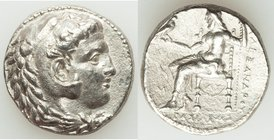 MACEDONIAN KINGDOM. Alexander III the Great (336-323 BC). AR tetradrachm (24mm, 16.65 gm, 2h). XF. Early posthumous issue of 'Babylon', ca. 323-317 BC...