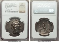THRACE. Maroneia. Late 2nd-middle 1st centuries BC. AR tetradrachm (36mm, 16.49 gm, 12h). NGC XF 4/5 - 4/5. Head of young Dionysus right, wearing mitr...