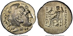 THRACE. Mesembria. Ca. 250-175 BC. AR tetradrachm (16.55 gm). NGC Choice AU 5/5 - 3/5, light scratch. Posthumous issue in the name and types of Alexan...