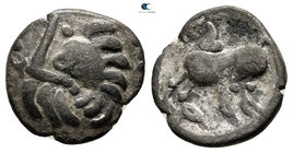 Eastern Europe. Imitation of Philip II of Macedon 200-50 BC. Fourrée Drachm
