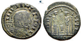 Eastern Europe. Imitating Constantine I Follis AD 330-340. Follis AE