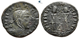 Eastern Europe. Imitation Constantine I Follis AD 330-340. Follis AE