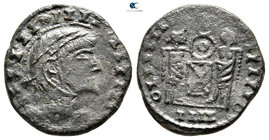 Eastern Europe. Imitating Constantine I Follis AD 340-360. Follis AE