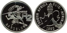 South Africa 2 Rand 1992