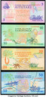 Cook Islands Government of the Cook Islands 3; 10; 20; 50 Dollars ND (1992) Pick 7a; 8a; 9a; 10a Choice Crisp Uncirculated.   HID09801242017
