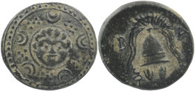 "Kings of Macedon. Uncertain mint. Alexander III ""the Great"" 336-323 BC. 1/2 Unit AE