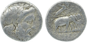 Seleukid Kingdom. Seleukeia on Tigris. Seleukos I Nikator 312-281 BC.