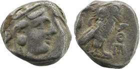 ATTICA, Athens. Circa 460-404 BC. AR Tetradrachm