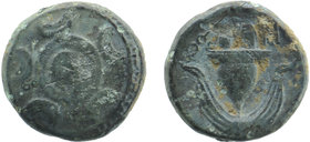 Macedonian Kingdom. Anonymous issues. Ca. 323-310 B.C. AE Uncertain mint in Western Asia Minor cf. Liampi 139-156. 4,09 gr. 14 mm
