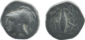 Aiolis, Elaia. ca. 450-400 B.C. AE 10