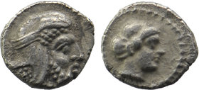 CILICIA, Uncertain. 4th century BC. AR Obol